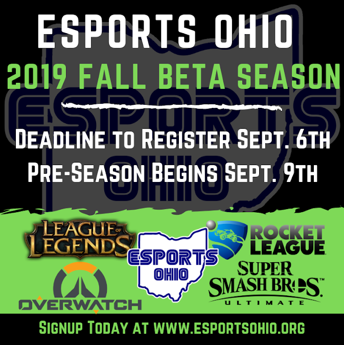 Ohio Esports Fall Tournament