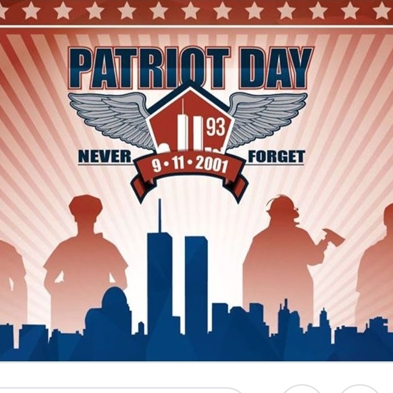 Patriot Day image of first responders