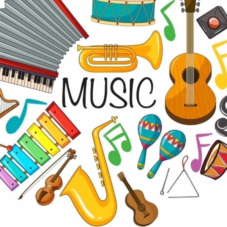 music instrument graphic