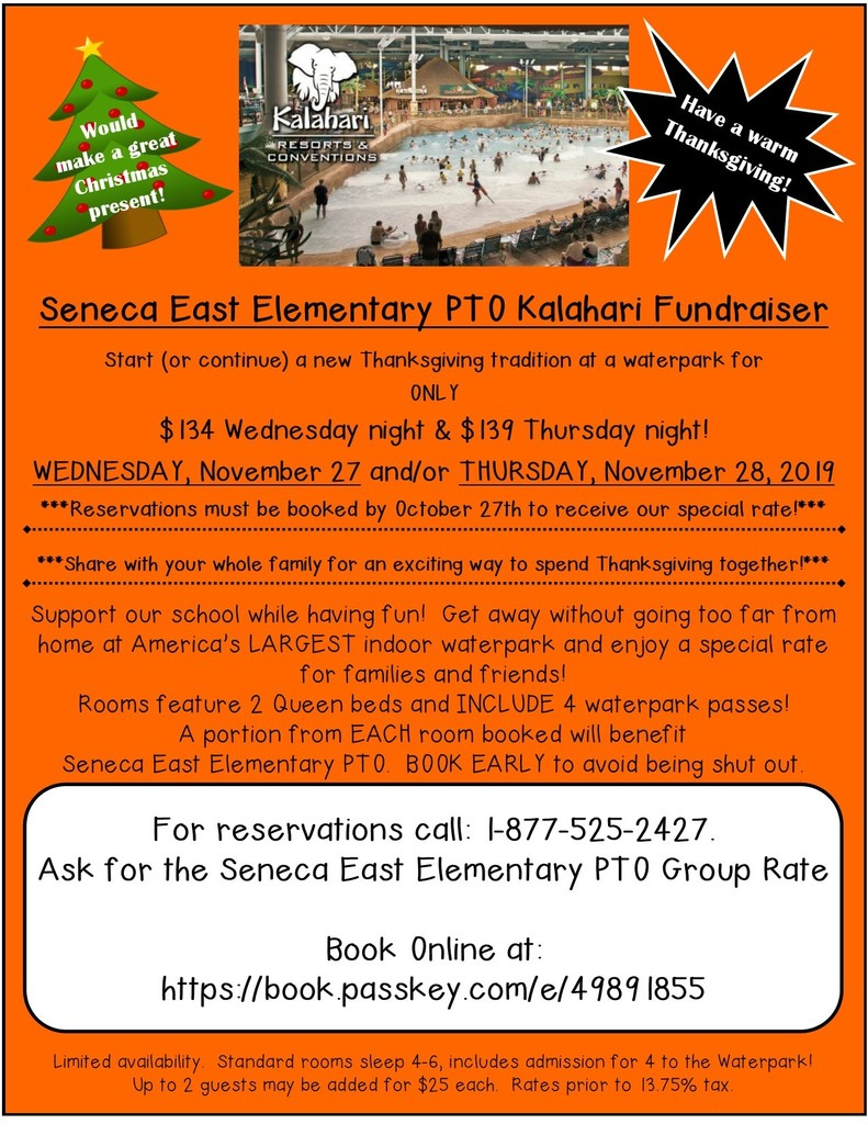 PTO Kalahari Fund-raiser