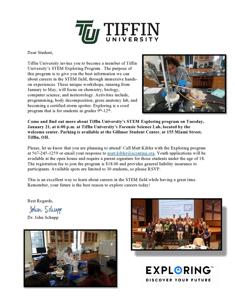 Tiffin University STEM program