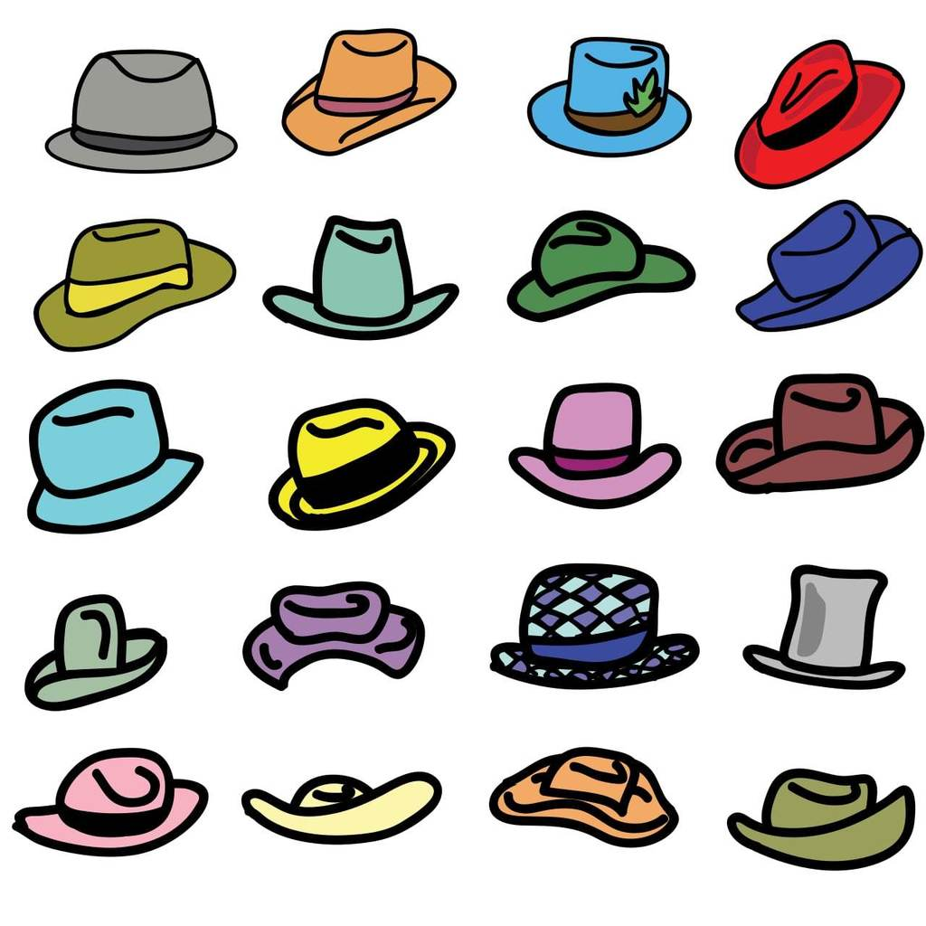 Multiple hats